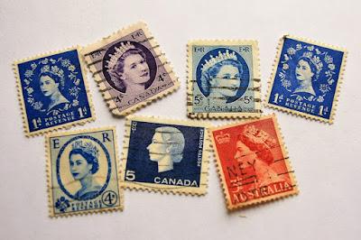 Sellos Postales de Isabel II