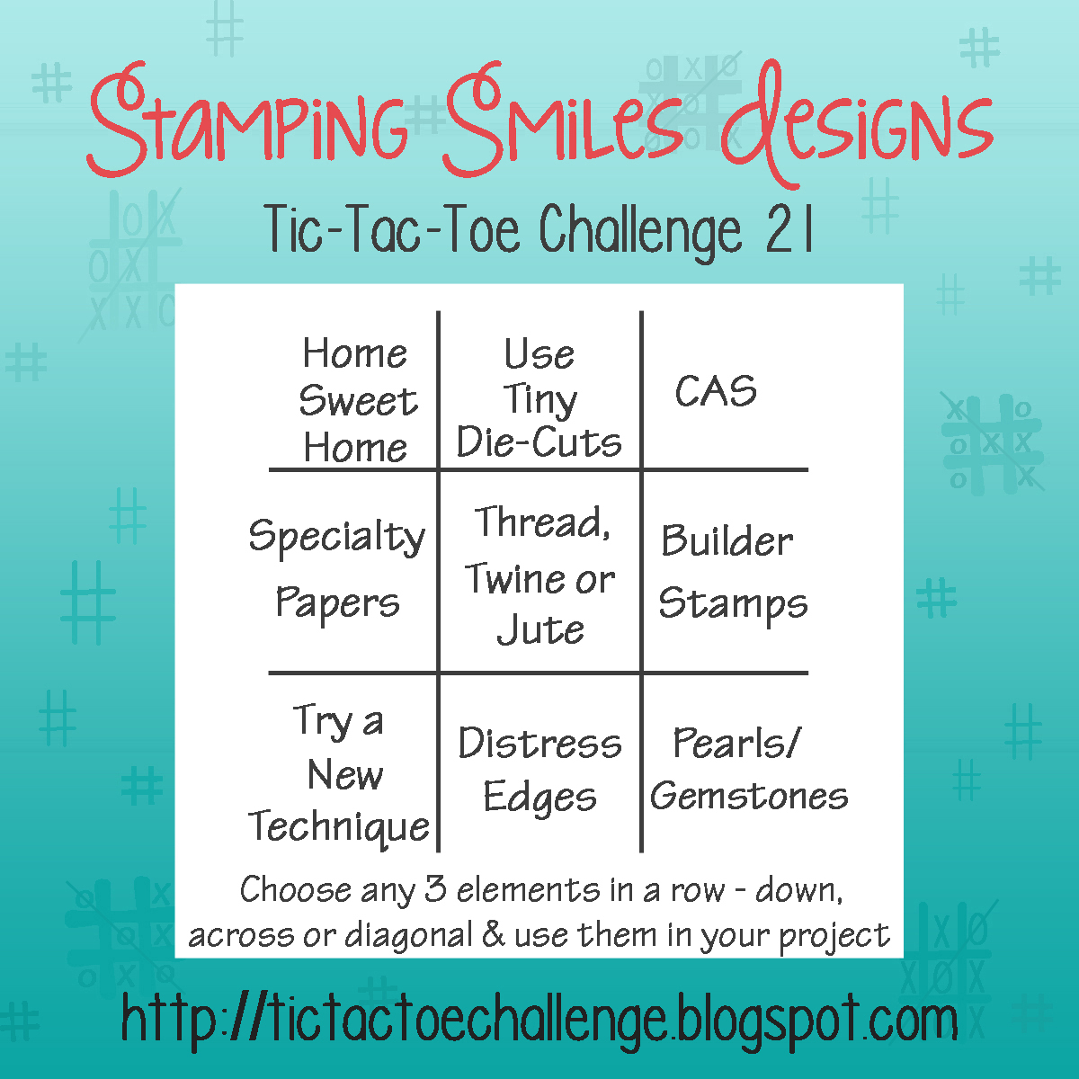 Tic Tac Toe Challenge Challenge 21 Inspiration With Rachel