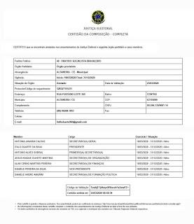 PSB de Altaneira tem novo Diretório Municipal