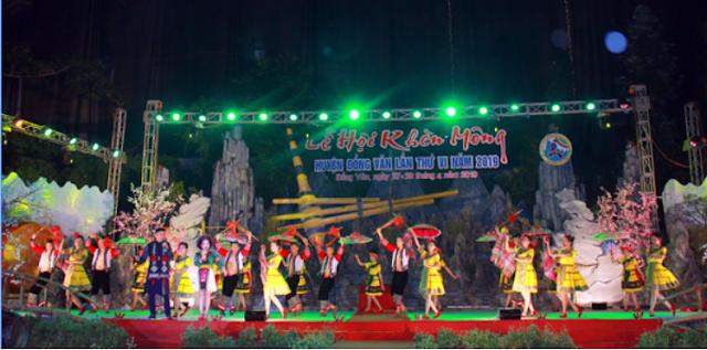 lễ hội Khèn Mông lần thứ VII