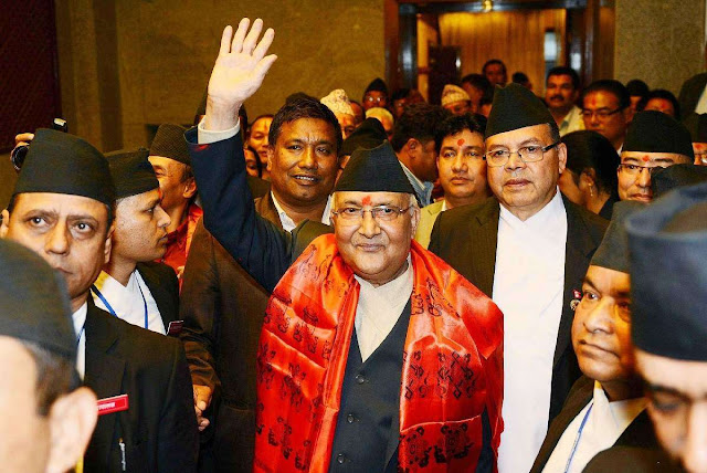 Nepal's prime minister in hospital for cough, fever