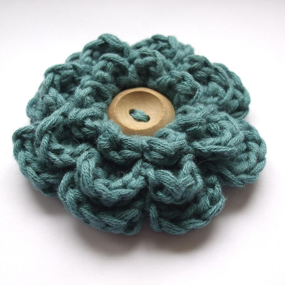 Deshilachado Flores De Ganchillo Crochet Flowers