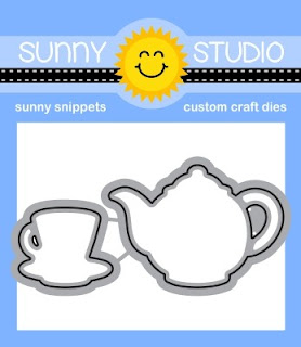 Sunny Studio Blog: Tea-riffic Coordinating Metal Cutting Dies Set