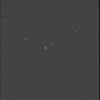 double star STF 2877 in luminance
