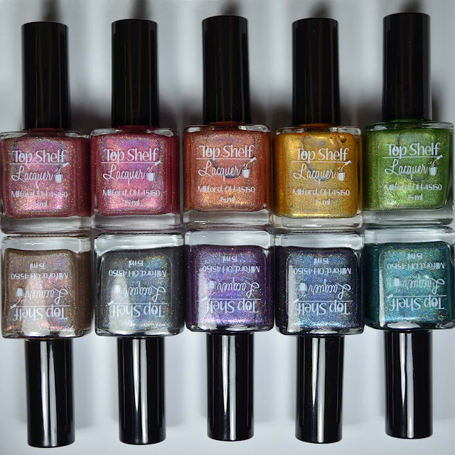 holographic nail polish collection