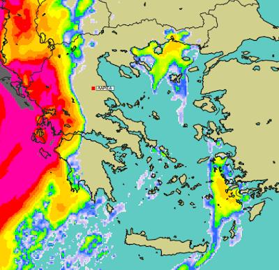 4 - Μπόρες και καταιγίδες σε μεγάλο μέρος της χώρας (+XAΡΤΕΣ ΥΕΤΟΥ)