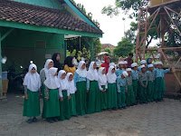 Kunjungan Sahabat SDIT Permata Kota Probolinggo ke MI Tashilul Mubtadiin