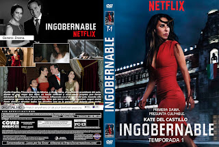 INGOBERNABLE 2017-2018 TEMPORADA 1-2 [COVER – SERIE – DVD]