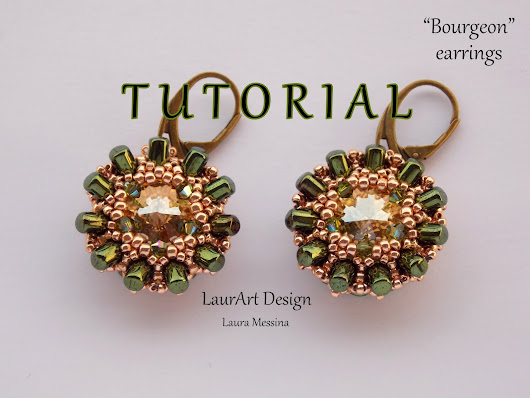 LaurArt - handmade Jewelry: TUTORIAL: ORECCHINI BOURGEON | HOW TO | DIY