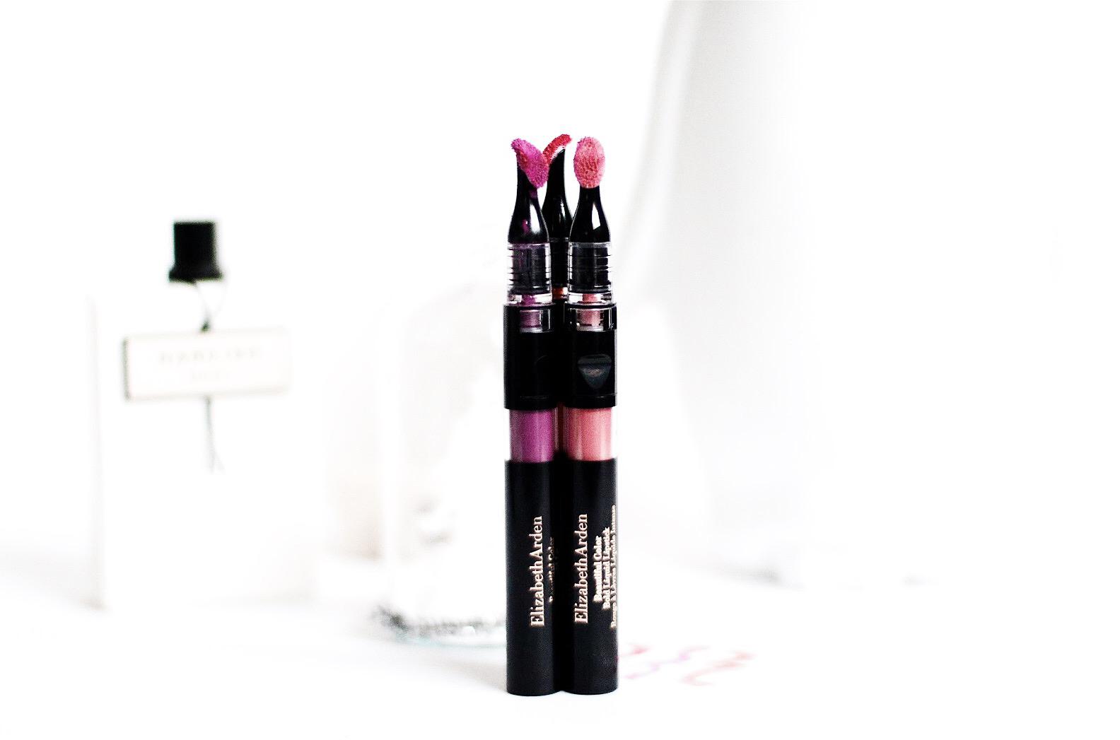 elizabeth arden bold liquid lipstick rouge à lèvres avis test swatch