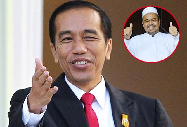 Jutaan Orang Sambut Habib Rizieq, Ini Kata Jokowi