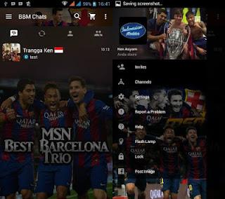 BBM MOD Trio MSN v2.12.0.9 Apk