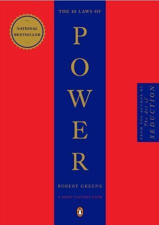 كتاب 48 قانوناً للقوة لـ روبرت غرين كتب تطوير الذات والثقة بالنفس