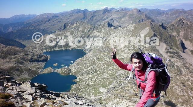 Rutas por Pirineos. Ruta por Andora. Subida al Pic de Noé