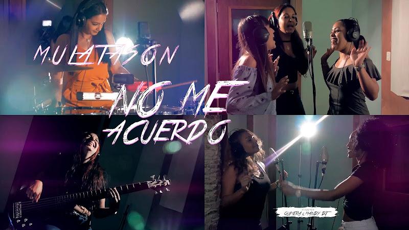 MULATASON - ¨No me acuerdo¨ - Videoclip - Dirección: Quimera - Mandy DJ. Portal del Vídeo Clip Cubano