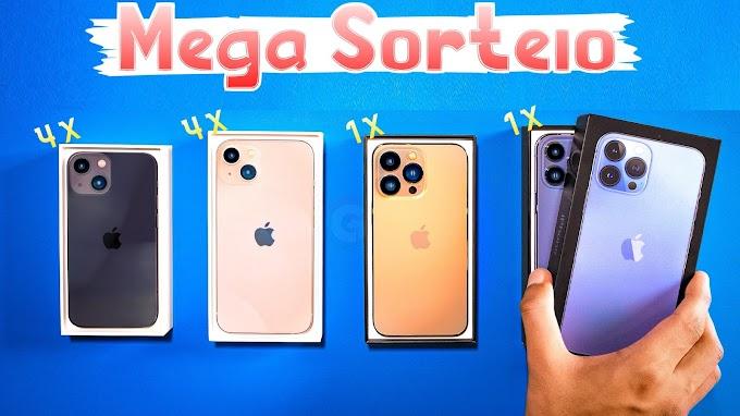 Mega Sorteio de 10x iPhones 13