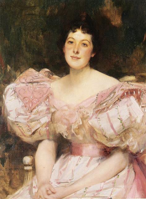 James Jebusa Shannon - Portrait of a Lady