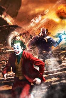 Joker versus Thanos