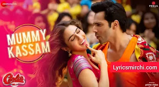 Mummy Kassam Lyrics | Coolie No.1 | Udit Narayan