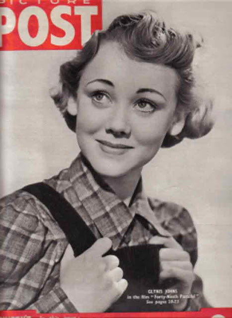 "Glynis Johns of movie ""49th Parallel"" on Picture Post cover, 4 October 1941 worldwartwo.filminspector.com"