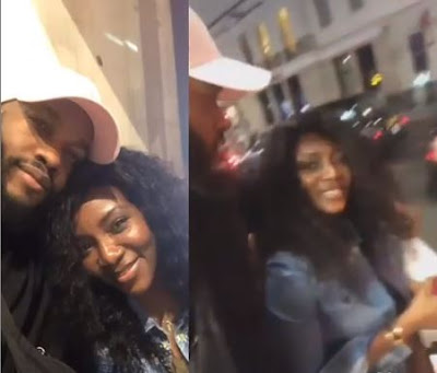 """""""Perfect Couple, Get Married Fast"""" - Fans Reacts To Genevieve And Lynxxx Hanging Out Together"""