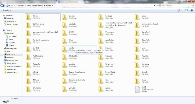 Copy all the files and paste in your PC