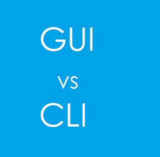 Pengertian dan Perbedaan Antara GUI & CLI