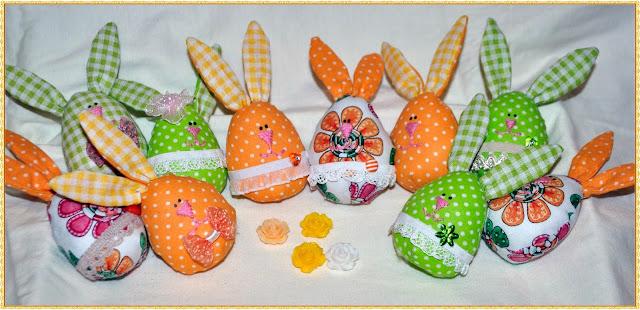 яйца, Пасха, зайцы