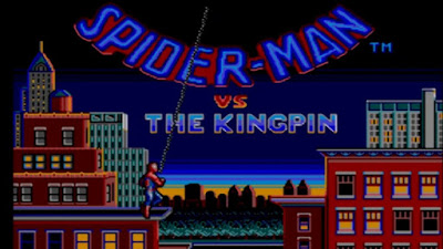 Spiderman en Sega Master System de 8 bits