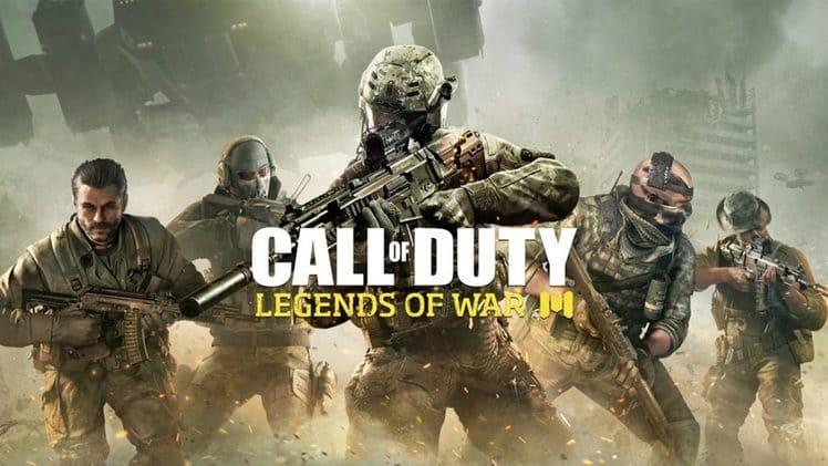 تحميل و تنزيل لعبة Call Of Duty Legend Of War mobile game للموبايل