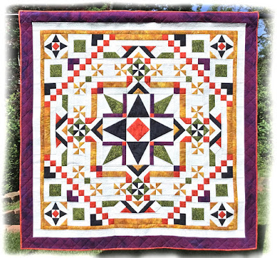 Ramblin' Star Block of the Month is Here!