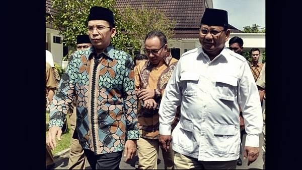 Poling TS, Prabowo-TGB Lebih Dipilih Pembaca
