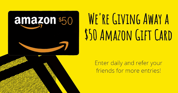 $50 USD Amazon Gift Card Giveaway