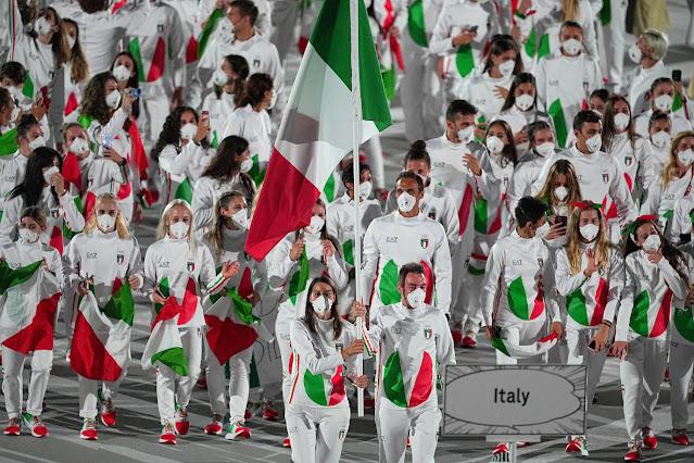 ITALIA Y SU GRAN PARTICIPACIÓN EN TOKIO 2020