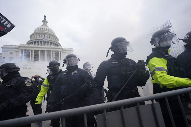 Capitol Hill Clashes is an Insurrection, Not Protest: Joe Biden