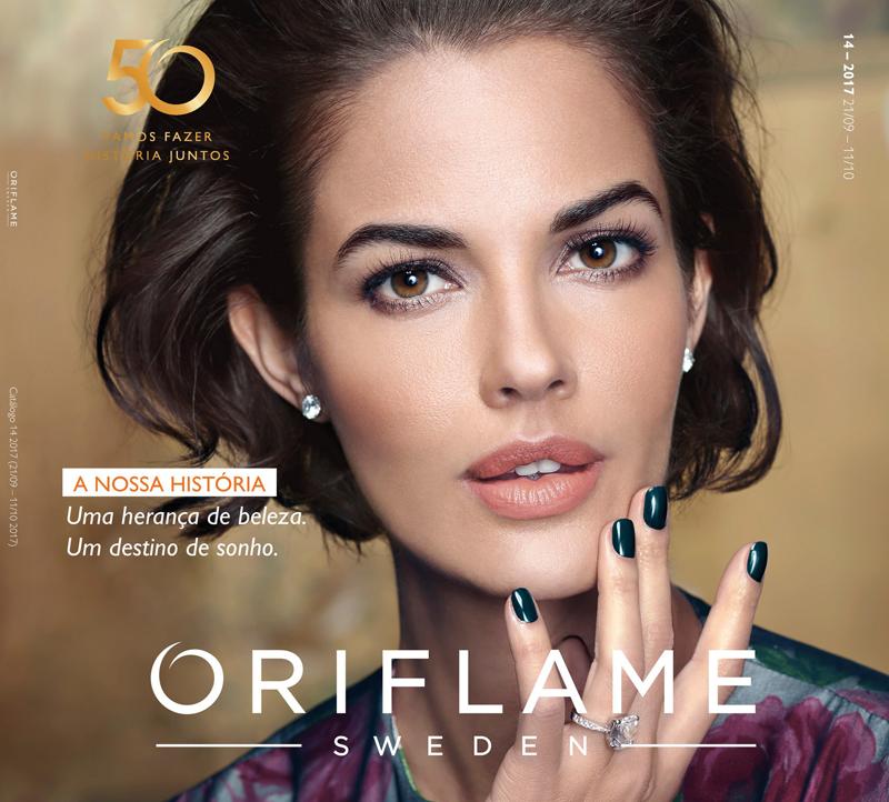 Catálogo 14 de 2017 da Oriflame