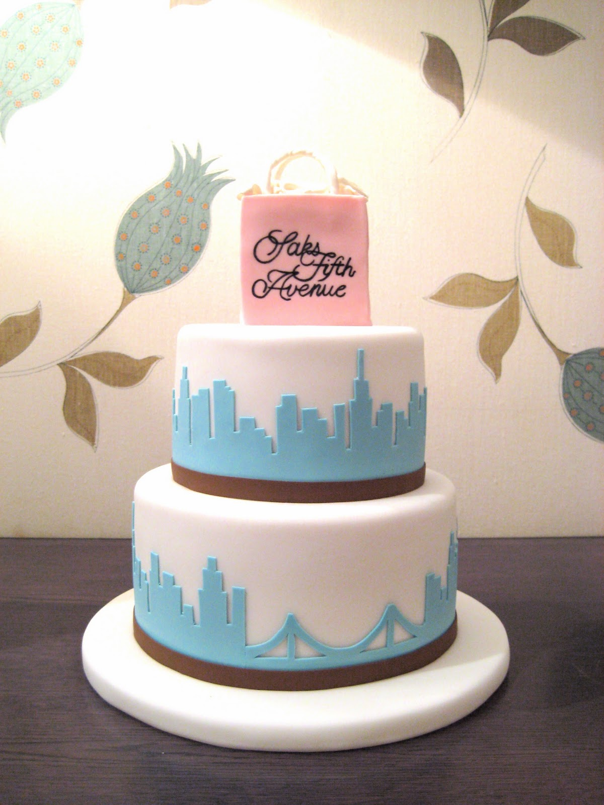 Eat Cake Be Merry Nyc Skyline