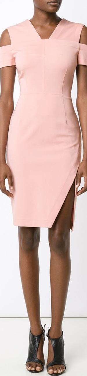 Yugai Azrouel Cold Shoulder Dress