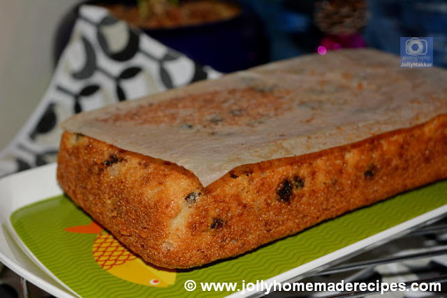 Wheat Semolina Cake(Eggless)