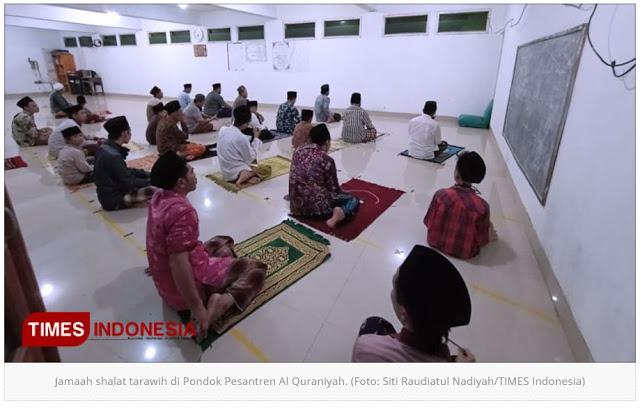 Super Cepat! Salat Tarawih 23 Rakaat Imam Janjikan 6 Menit Pasti Beres, Tahun Lalu 7 Menit