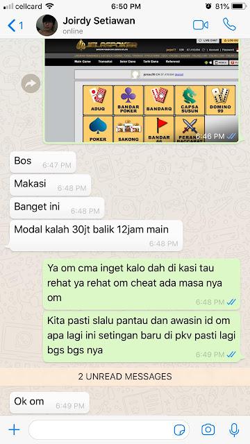 Cheat Judi BandarQ Online Terpercaya Dengan ID PRO PKV GAMES Terbaru