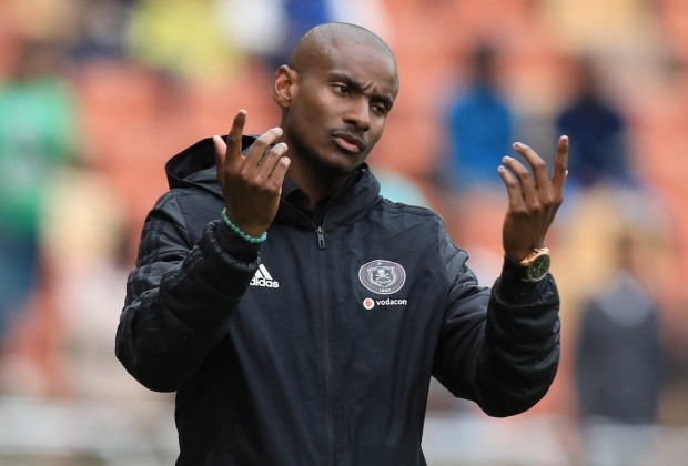 Orlando Pirates head coach Rhulani Mokwena
