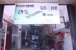 Diskon Service Bagi Pengendara Gojek dan Grabbike di Jakarta Selatan