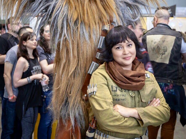 Rose Tico Cosplay