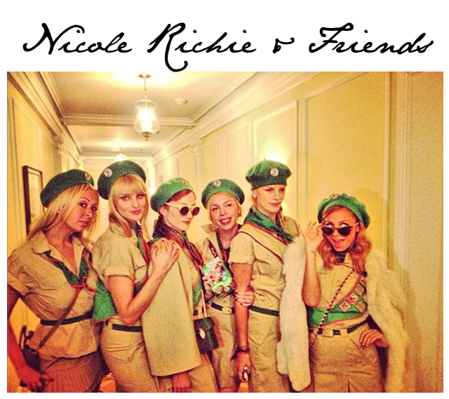 Nicole Richie Halloween Troop Beverly Hills