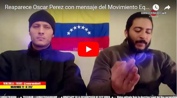 Otra vez aparece Oscar Perez en otro video más