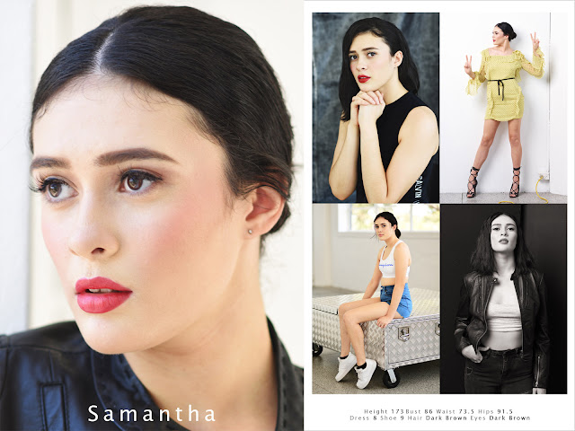 Sam's confidence building - Sydney Model Agency  Portfolio Photoshoot And Comp Card - Photography by Kent Johnson