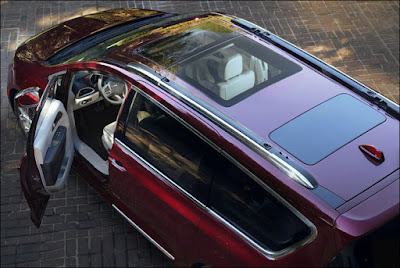 Chrysler Pacifica with sunroof Hd pictures