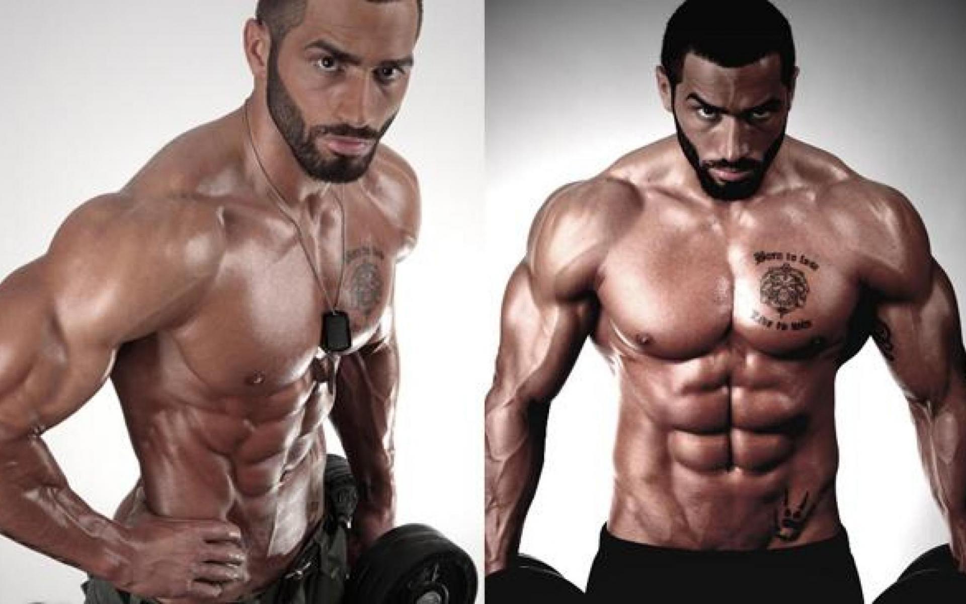 Lazar Angelov gym workout routine