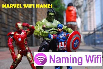 marvel wifi names